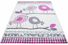 Vloerkleed voor de kinderkamer, »Kids 520«, Ayyildiz Teppiche, rechthoekig, 12 mm, machinaal geweven