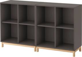 IKEA EKET Kastencombinatie met poten Donkergrijs Donkergrijs - lKEA