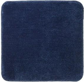 Bidetmat Antislip Sealskin Angora Polyester Blauw 60x60cm