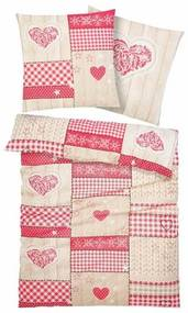 Overtrekset, HOME AFFAIRE COLLECTION, »Janina«, met patchworkdesign