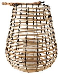 Lantaarn bamboe - ø30x36 cm