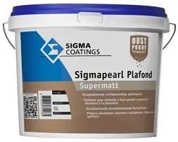 Sigma Sigmapearl Plafond Supermatt - Wit - 5 l