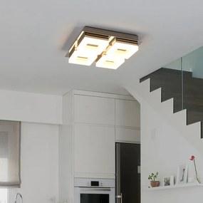 LED badkamer plafondlamp Marija met vier lichtbr. - lampen-24