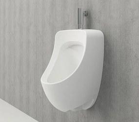 Bocchi Taormina pro urinoir met boven aansluiting mat wit