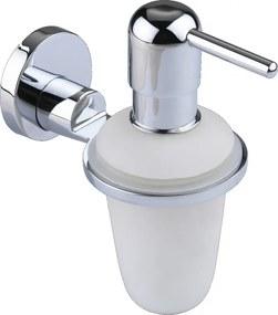 Washington zeepdispenser chroom