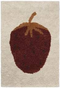 Fruitcana Tufted Strawberry Vloerkleed 120 x 80 cm