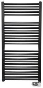 Wiesbaden Elara elektrische radiator 118.5x60cm mat zwart 41.3591