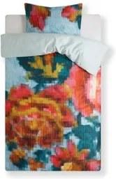 Oilily Floral Mosaic dekbedovertrekset van katoensatijn - inclusief kussenslopen