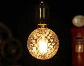 E27 LED Filament Pine Globelamp 4W Warm Wit Dimbaar