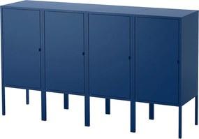 IKEA LIXHULT Opbergcombinatie 140x82 cm Donkerblauw Donkerblauw - lKEA