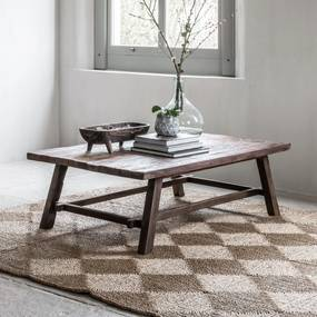 Must Living Campo Salontafel Van Gerecycled Hout - 120 X 70cm.