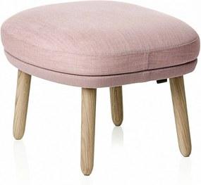Fritz Hansen RO JH12 Foot Stool voetenbank designers selection roze