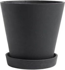 Flowerpot Bloempot met schotel XXL