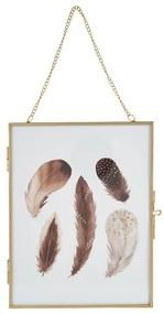 Fotolijst aan ketting - goud - 18x23 cm