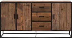 Goossens Eco Dressoir Otik, 3 deuren 3 laden