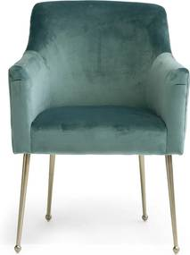 Rivièra Maison - Montmartre Dining Chair, velvet III, future 70