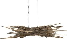 Goossens Hanglamp Twig, Hanglamp met 2 lichtpunten