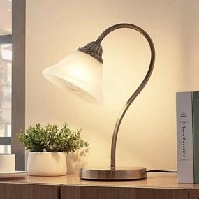 Gebogen tafellamp Mialina, E27 LED - lampen-24