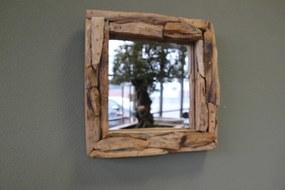 Spiegel sprokkel vierkant 40 cm