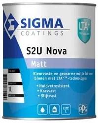 Sigma S2U Nova Matt - Wit - 1 l