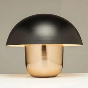 Kare Design Mushroom Tafellamp Van Zwart Metaal
