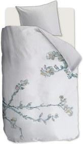 Beddinghouse Embroidered Blossom dekbedovertrekset van katoen perkal 200TC - inclusief kussenslopen