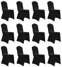 Stoelhoes stretch 12 st zwart