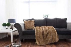 Heckett & Lane plaid Indigo - bruin - 140x220 cm - Leen Bakker