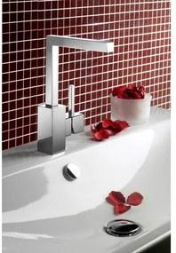 Hotbath Bloke wastafelmengkraan 004 Q geborsteld nikkel Q004GN