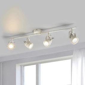Witte LED plafondlamp Leonor, GU10 - lampen-24