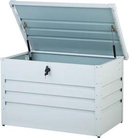 Kussenbox staal off-white 100x62 cm CEBROSA