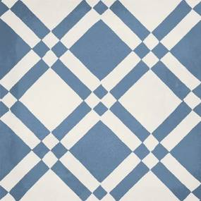 Jos. Hidro Vloertegel 19.7x19.7cm 8.3mm vorstbestendig Almost Square Blue Mat DD27