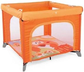 Baby Nora Box Open Park Junior 94X74 Cm Aluminium/Polyester Oranje
