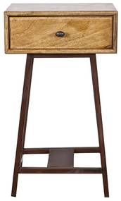 BePureHome Skybox Sidetable Naturel - 45x30x70cm.