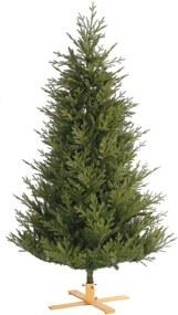 Van Der Gucht Arkansas kunstkerstboom met houten voet 183 cm
