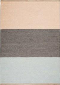 Design House Stockholm Fields vloerkleed 170x240 roze bruin blauw
