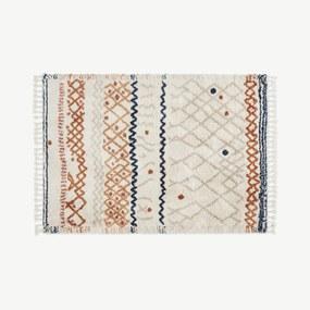 Drax vloerkleed in Berberstijl, extra groot, 200 x 300 cm, meerkleurig