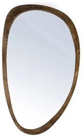 By-Boo Plecto Houten Spiegel Ovaal Bruin - 70x120cm