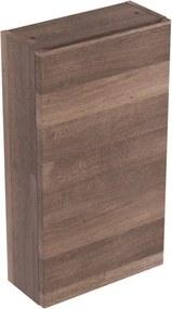 Geberit Renova Plan bovenkast 1 deur 70x39x17.3cm links/rechts donker eiken 869013000