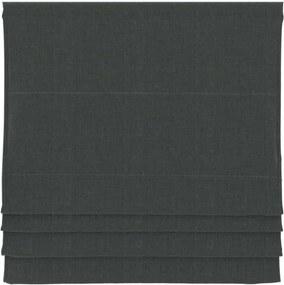 Vouwgordijn verduisterend - antraciet - 140x180 cm - Leen Bakker