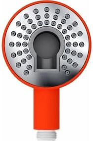 Clou Kaldur handdouche oranje soft-touch met 1/2 aansluiting CL/06.25005