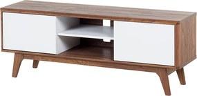 Dressoir bruin-wit - kast - lowboard - tv-kast - tv-meubel - ROCHESTER