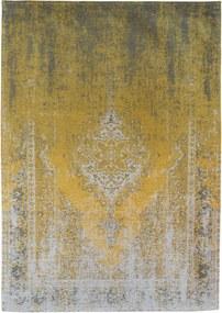 Louis de Poortere | Vloerkleed Yuzu Cream 8638 breedte 60 cm x lengte 90 cm geel vloerkleden 100% katoen vloerkleden & woontextiel | NADUVI outlet