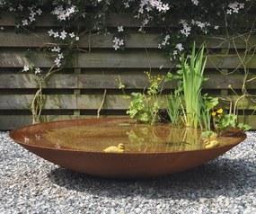 Waterschaal Cortenstaal 150 cm.