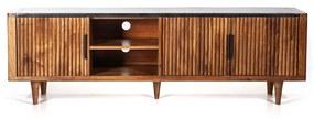 Eleonora Carter Retro Tv-meubel Mangohout 180 Cm - 180x41x57cm.