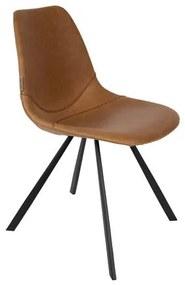 Franky - Eetkamerstoel - Bruin - Set van 2 Bekijk alle a href= https://www.bol.com/nl/l/-stoelen/N/14065+4281897947/ stoelen/a