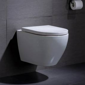 Wandcloset - Hangend Toilet Beauti - Inbouwtoilet Rimfree WC Pot