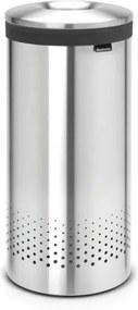 Brabantia wasbox 35 liter met uitneembare waszak matt steel 105128