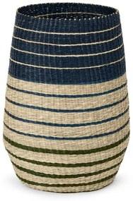 Inca wasmand van zeegras, Blue