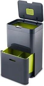 Intelligent Waste Totem Afvalemmer 48 Liter (2x24 L)